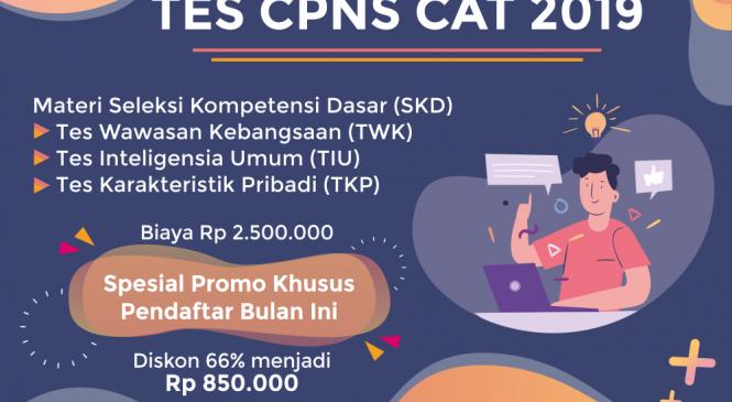 Bimbel CPNS Jogja Tes CAT SKD 2019